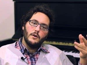 Composer Judd Greenstein