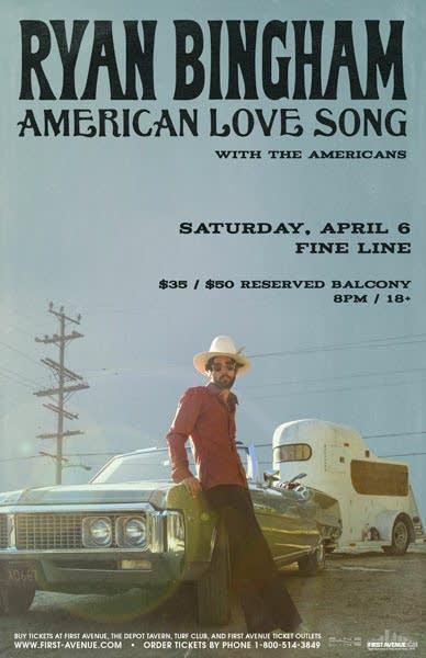 Ryan Bingham Fine Line poster