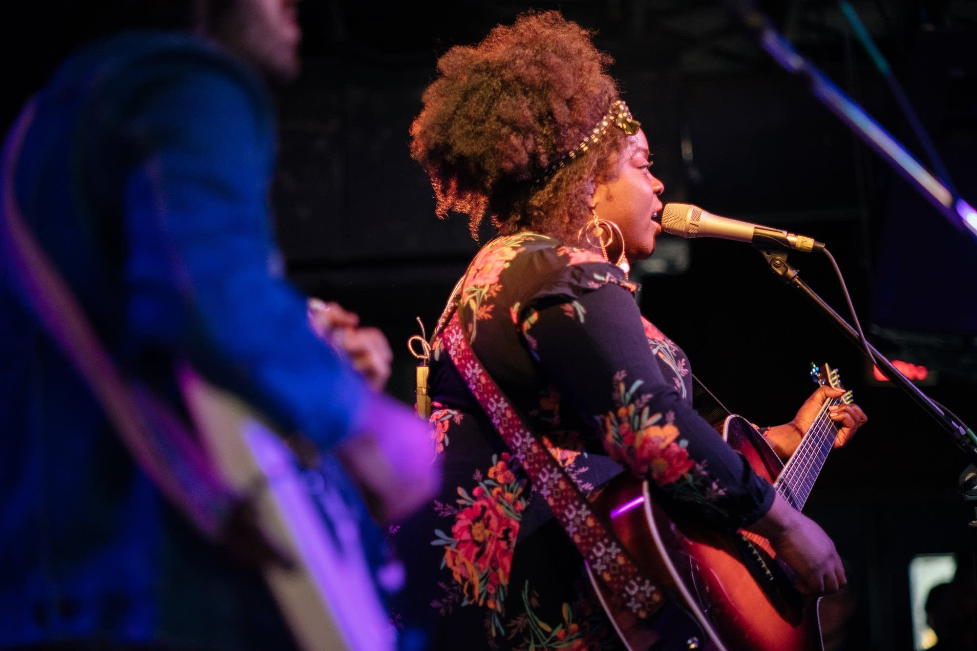 Yola performs at The Current Day Party during SXSW 2019