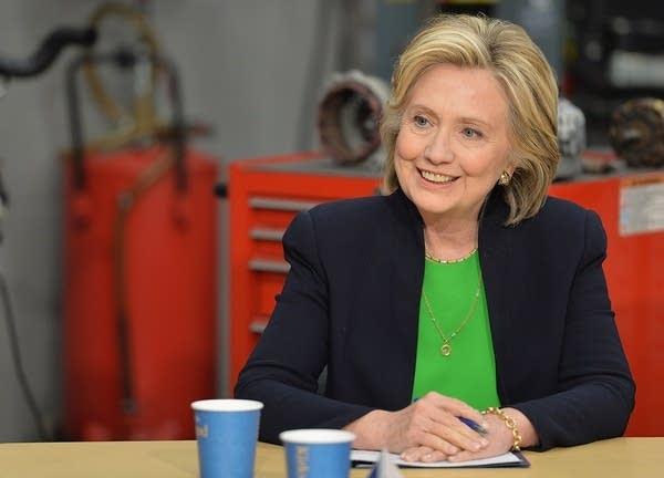 Hillary Clinton campaigns