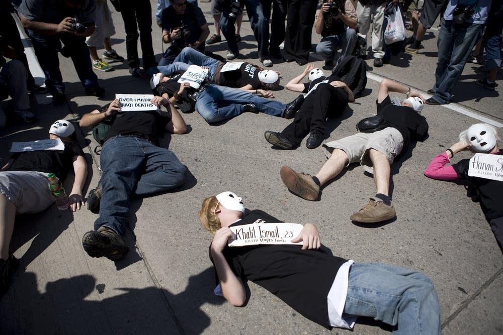 Activists at DNC