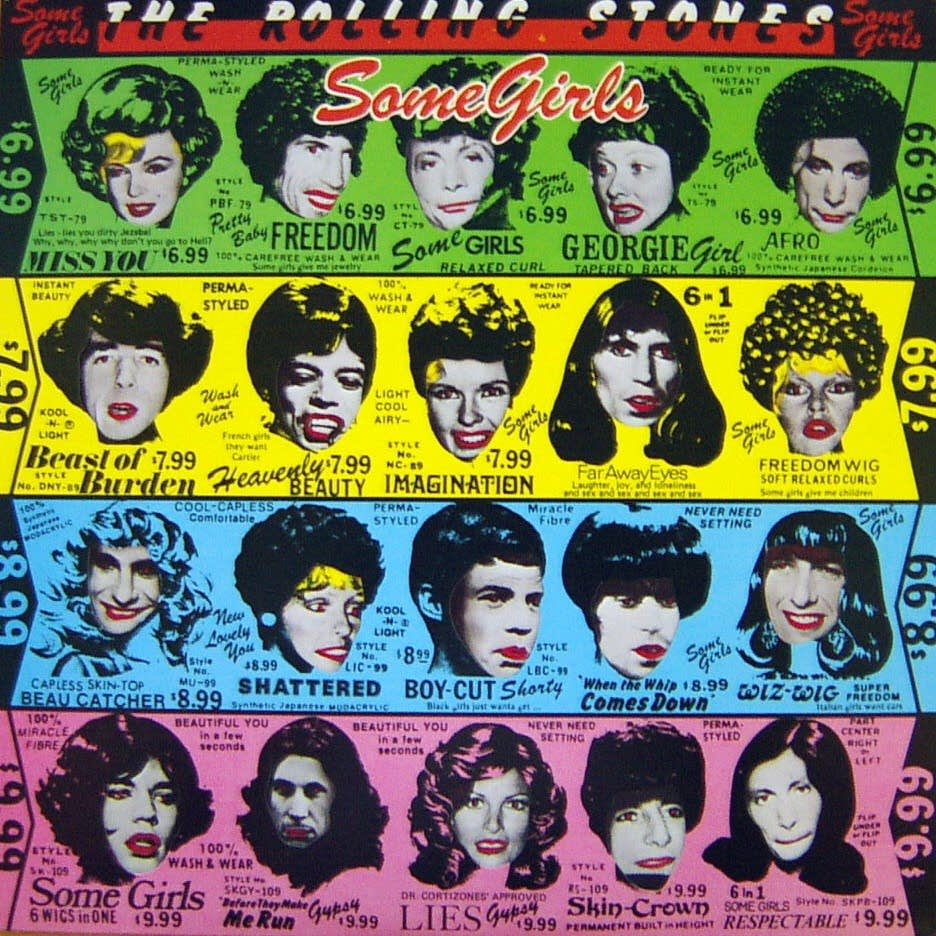 Cover of 'Some Girls' from The Rolling Stones
