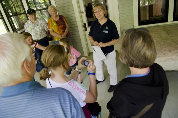 Visiting the Charles A. Lindbergh House