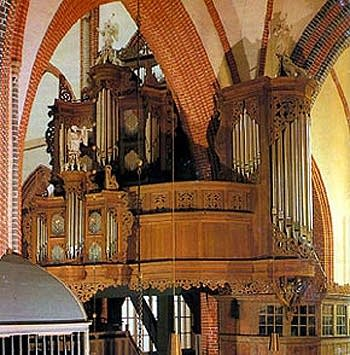 1692 Arp Schnitger organ at Saint Ludgeri Church, Norden, Germany