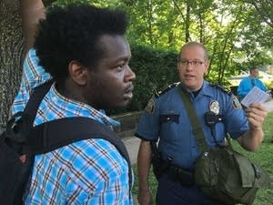 St. Paul police tell protesters to leave