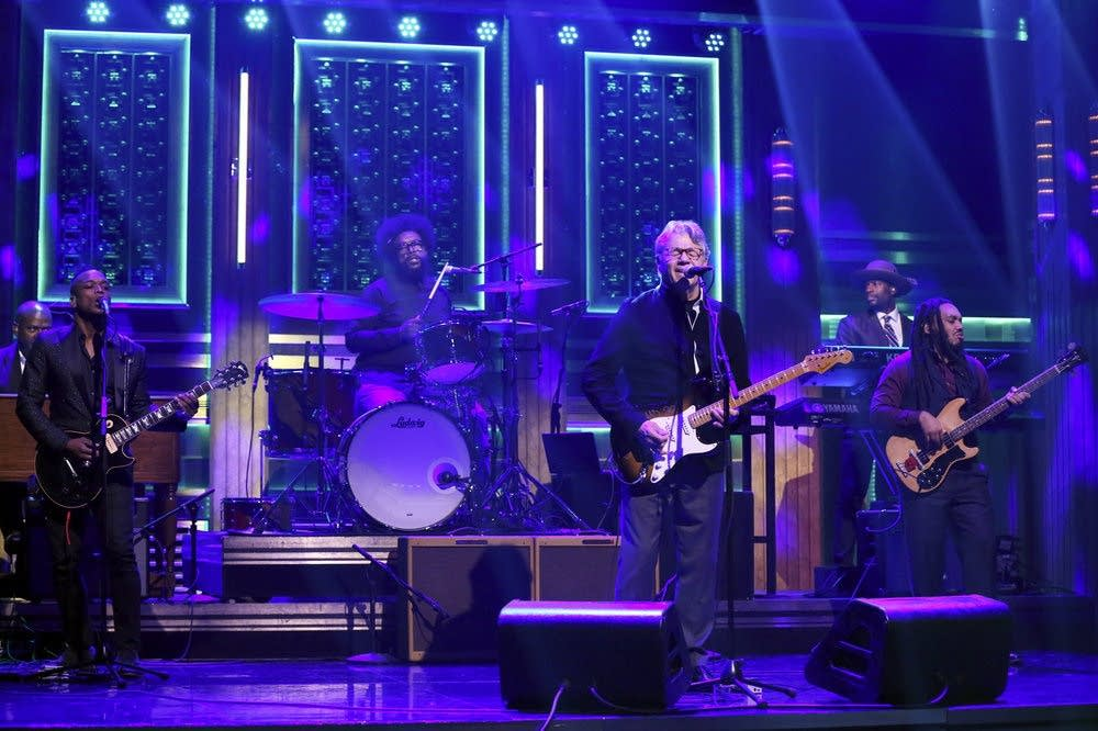 Steve Miller performs with The Roots on 'The Tonight Show'