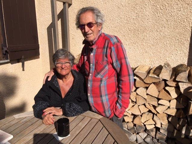 Daniele Enoch-Maillard and her husband Christian Maillard.