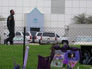 Security guard at Paisley Park