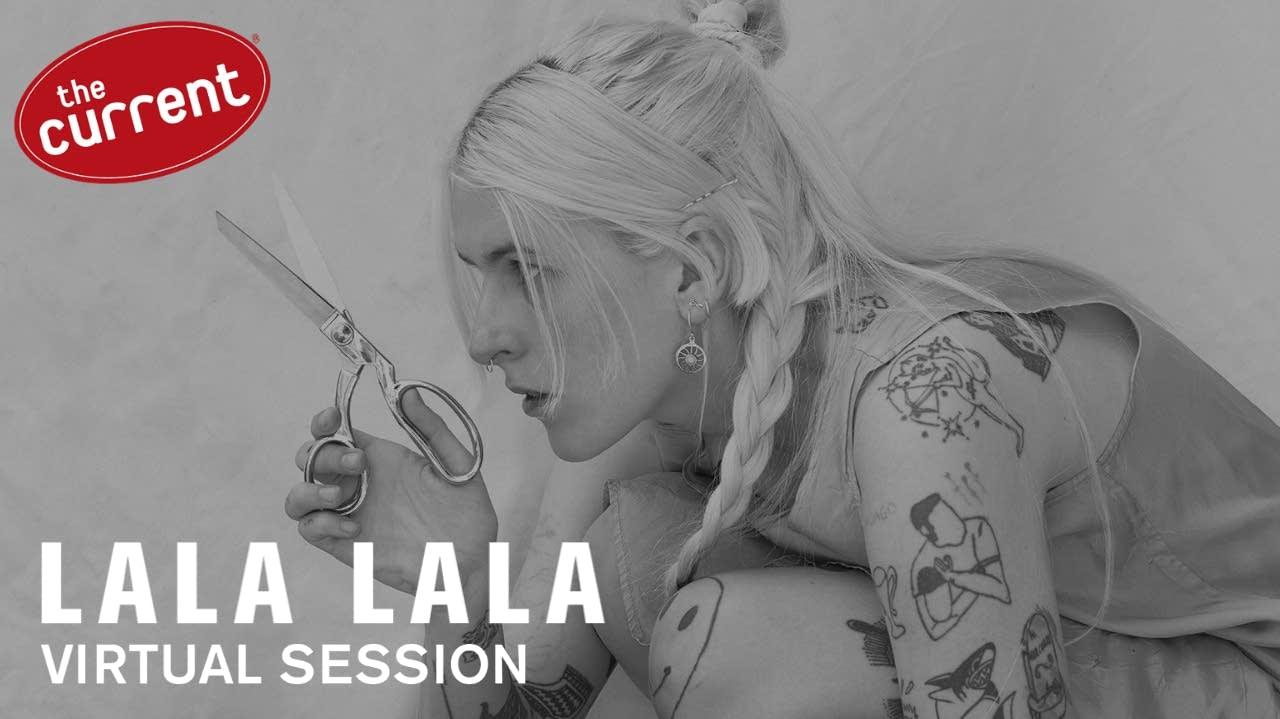 Lala Lala - Virtual Session promo graphic