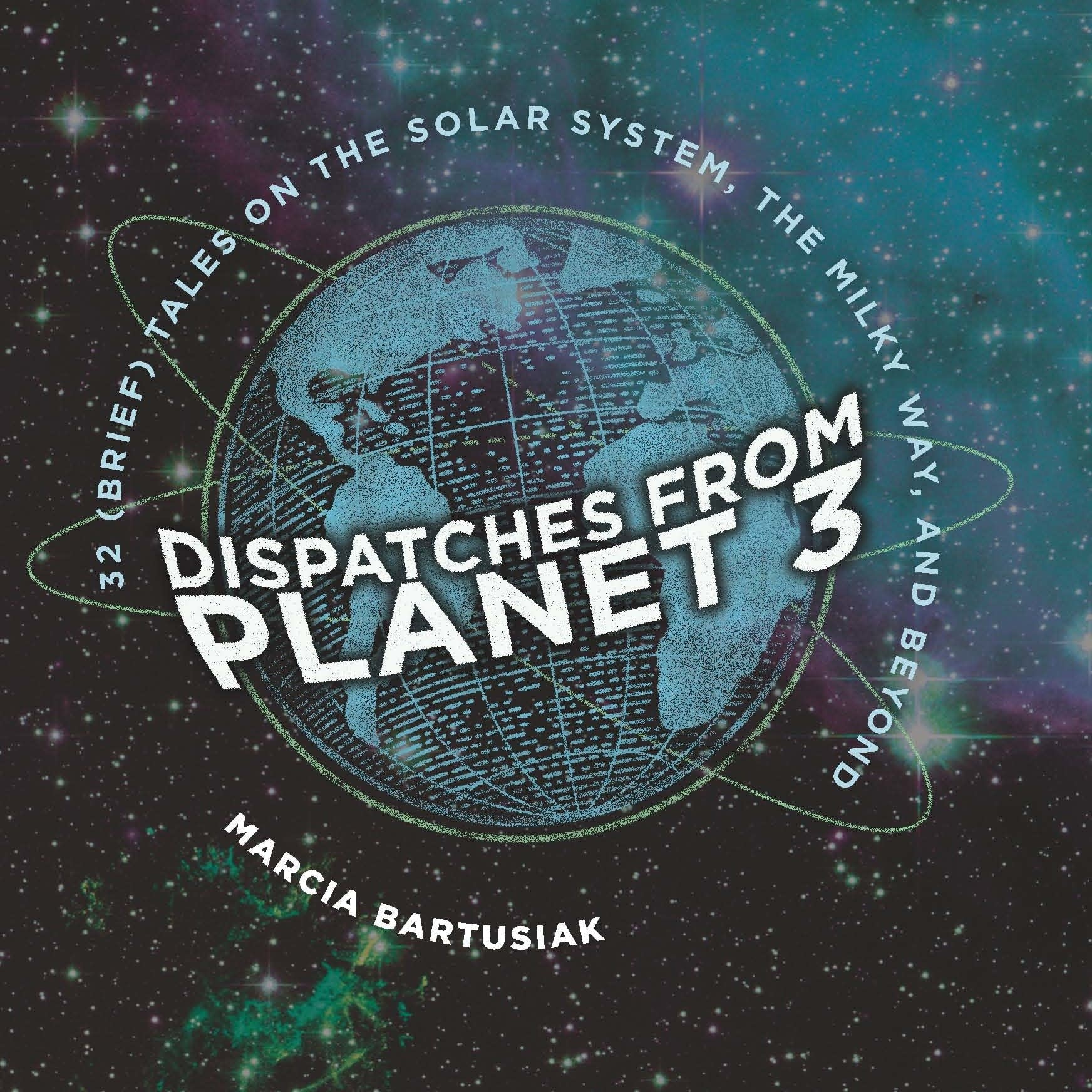 Book jacket from Dispatches from Planet 3