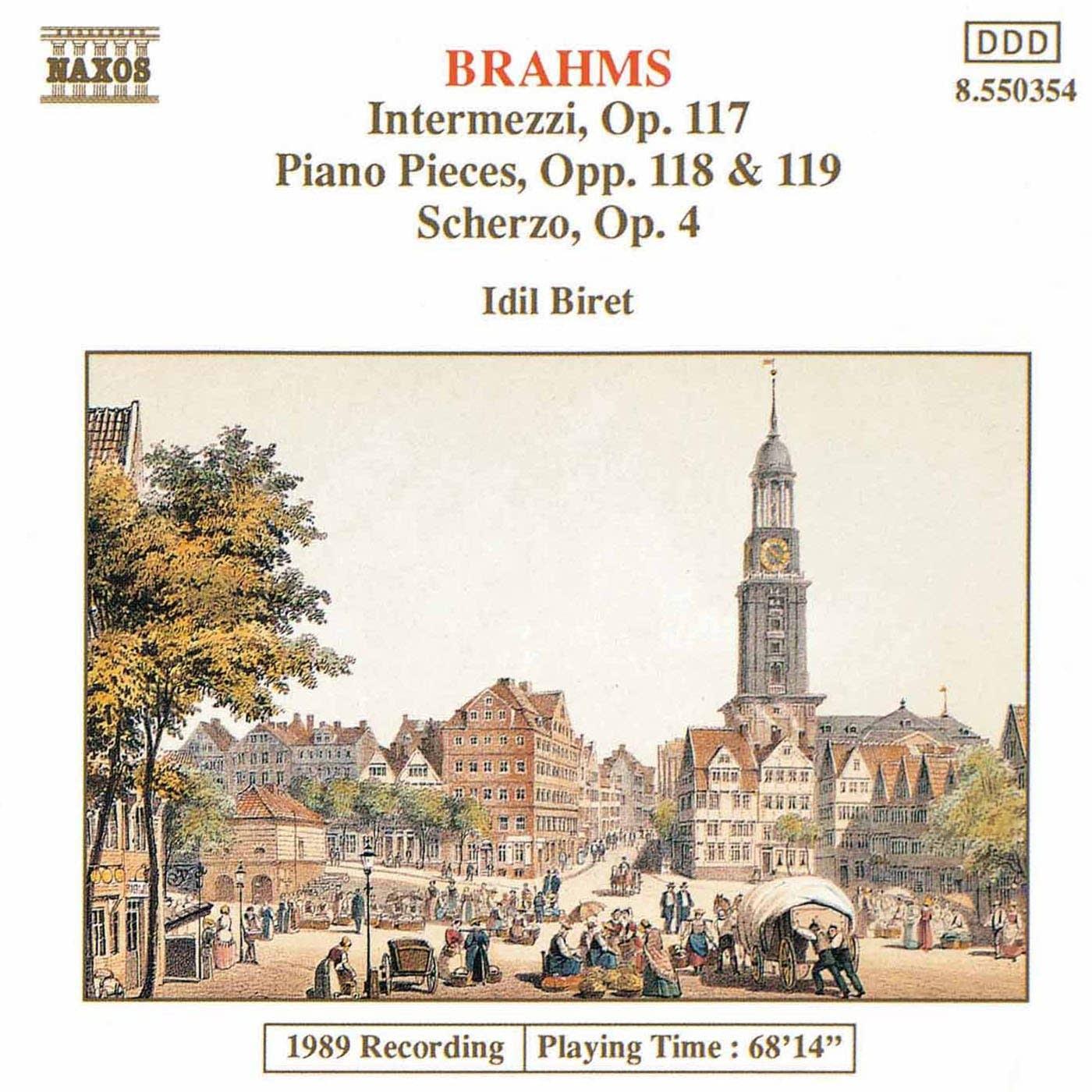 Johannes Brahms - Intermezzo No. 1, Op. 117