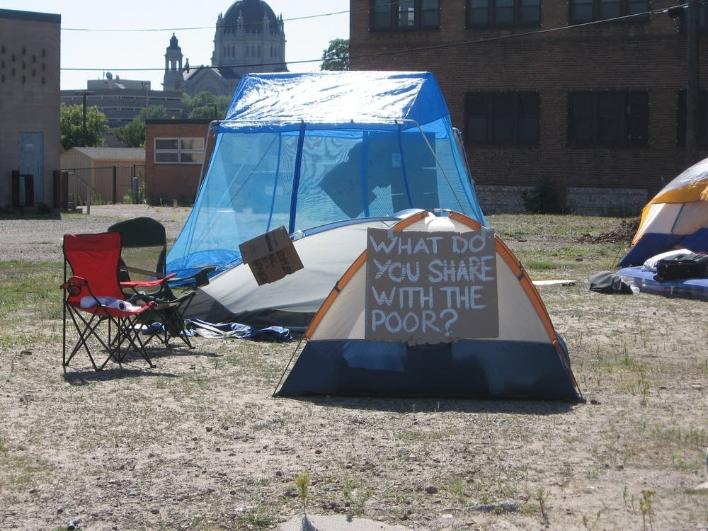 Poor people's camp