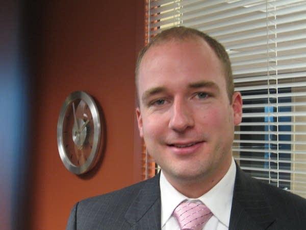 Klobuchar's state director Zach Rodvold