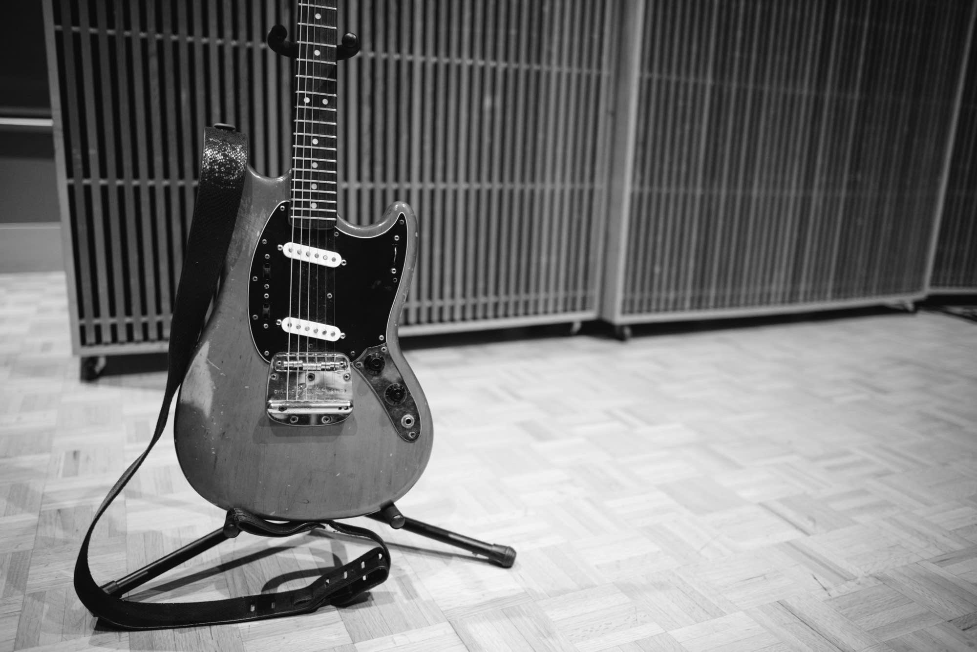 Deap Vally's Lindsey Troy's guitar