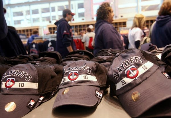 Twins playoff caps