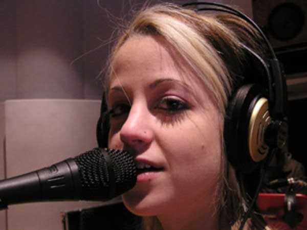 Carah Faye Charnow of the band Shiny Toy Guns