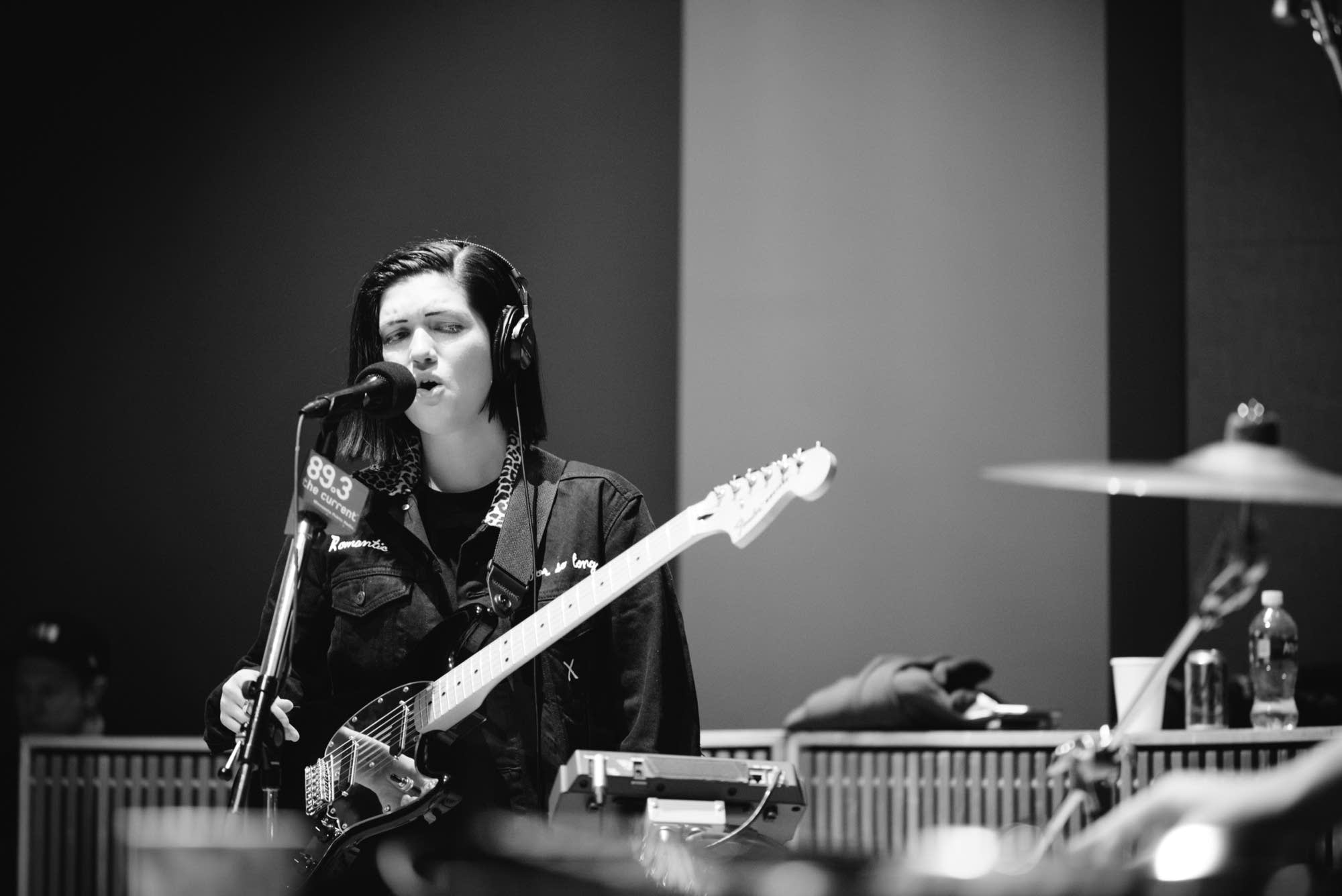The xx perform in The Current studio
