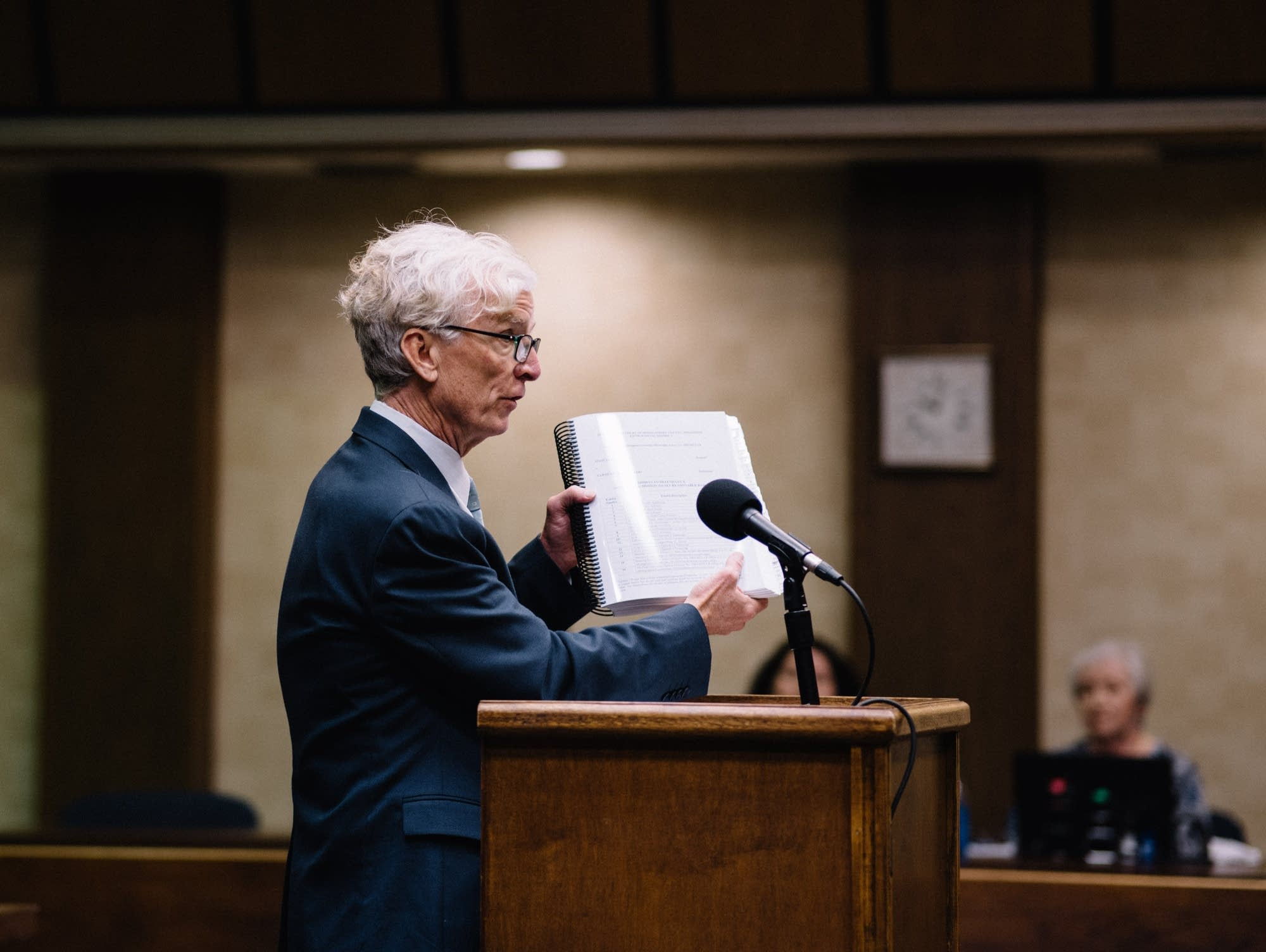 Defense attorney Rob McDuff