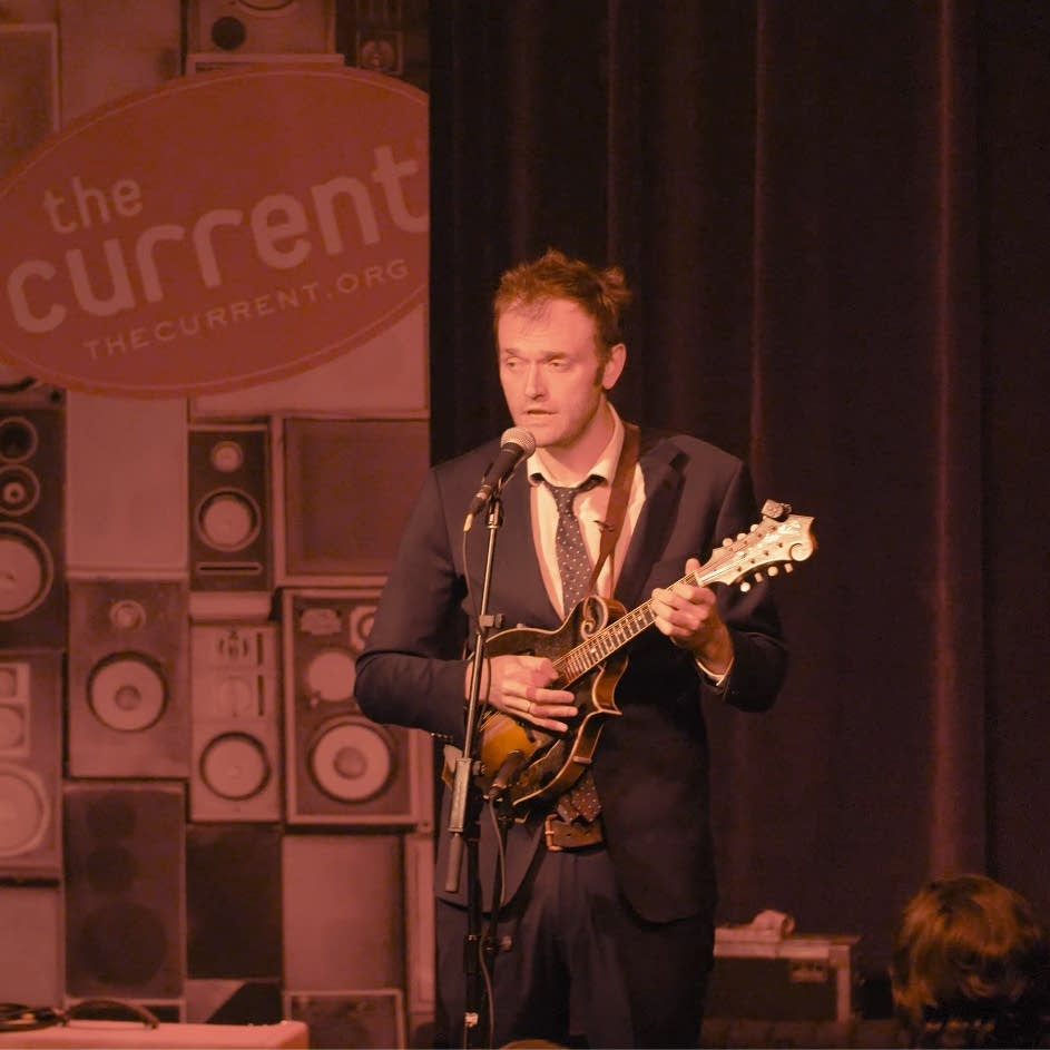 Chris Thile performs a MicroShow set in Minneapolis