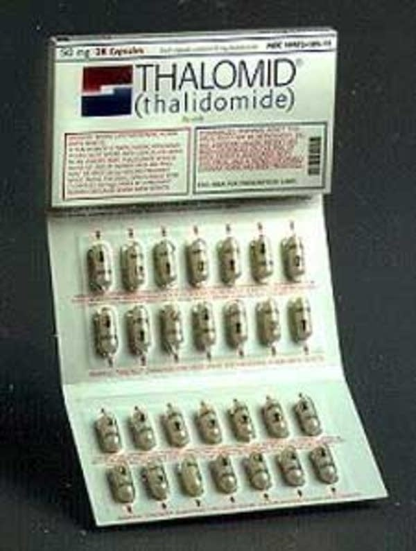 Thalidomide on the market