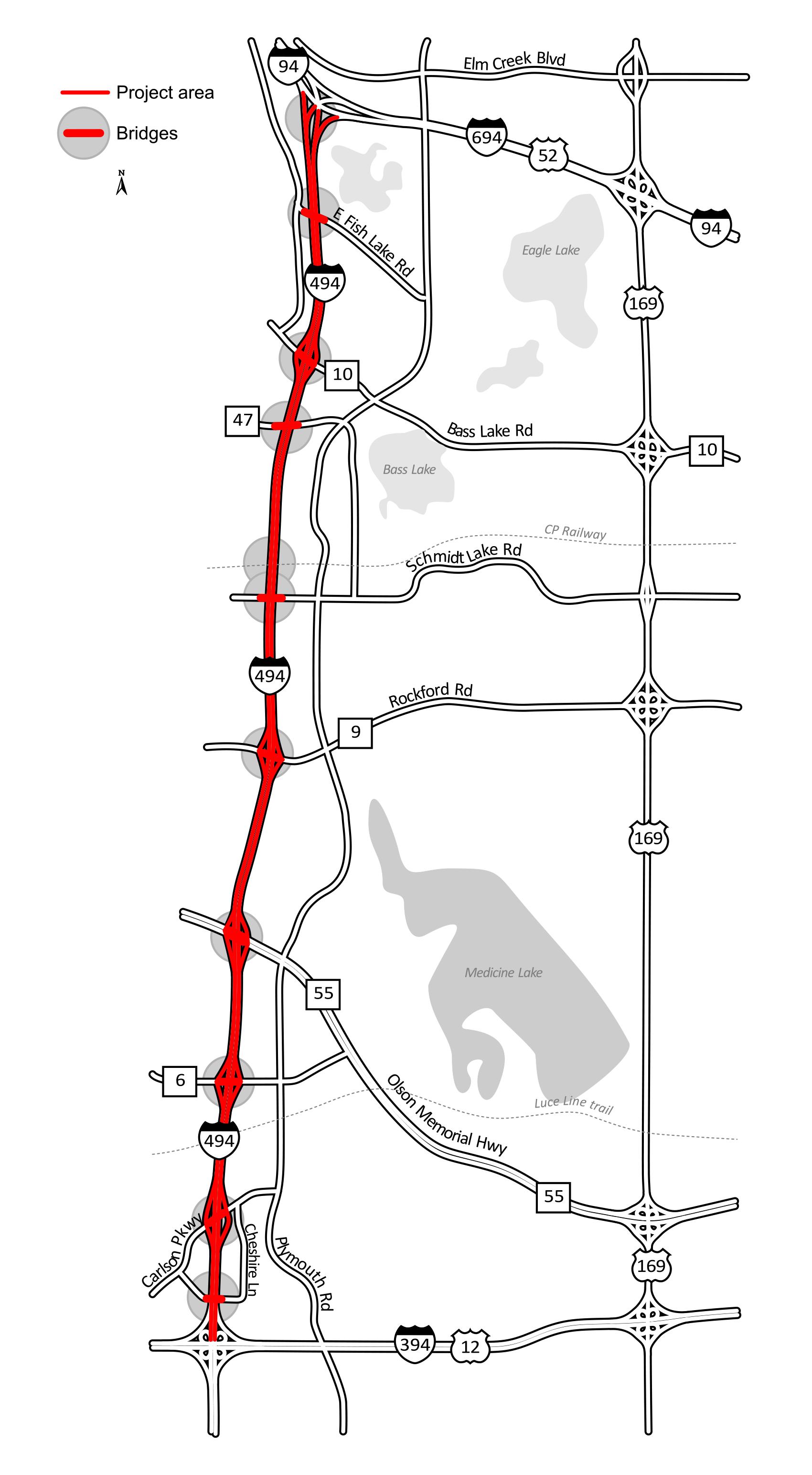 I-494 closure