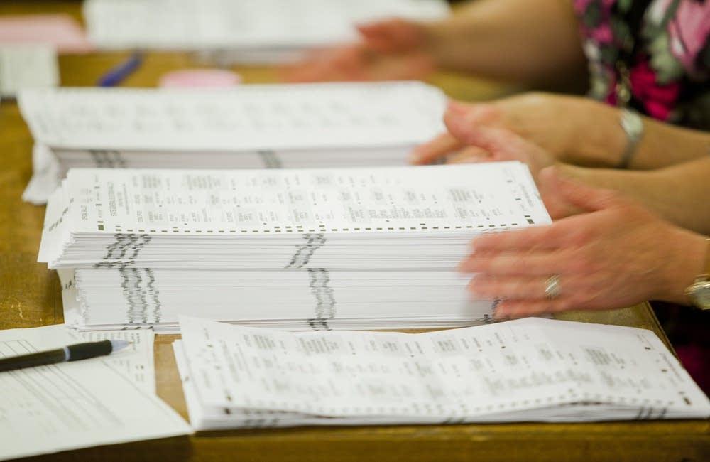 Stacked ballots