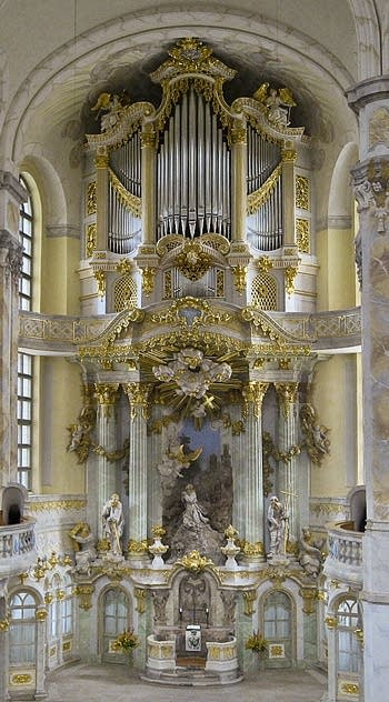 2005 Kern organ at the Frauenkirche, Dresden, Germany
