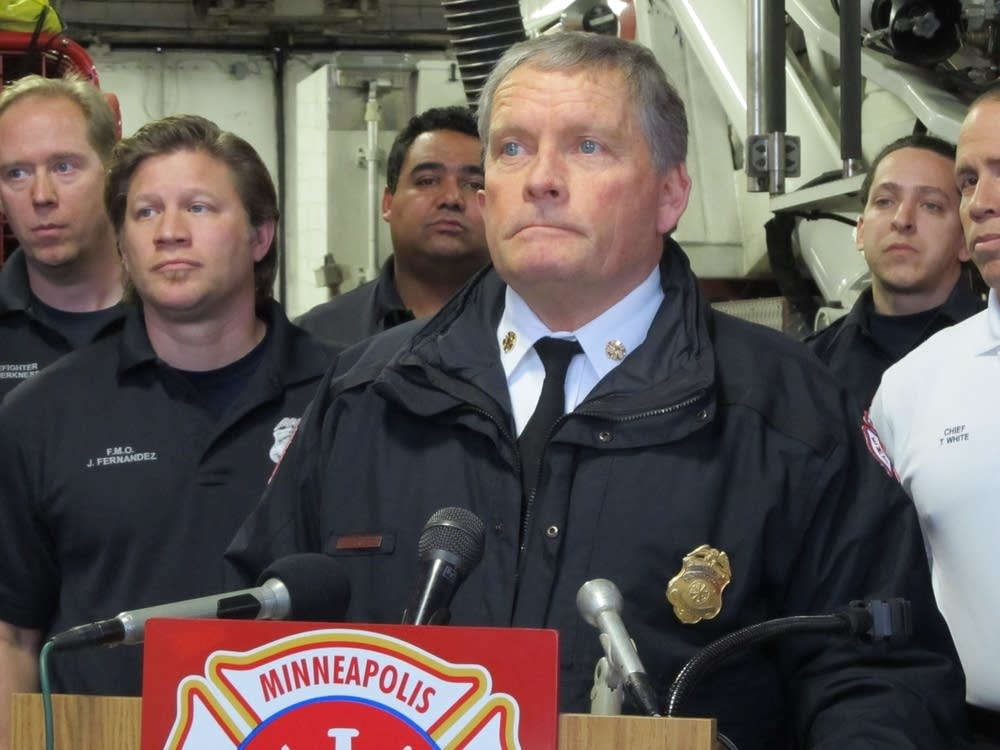Minneapolis Fire Chief John Fruetel