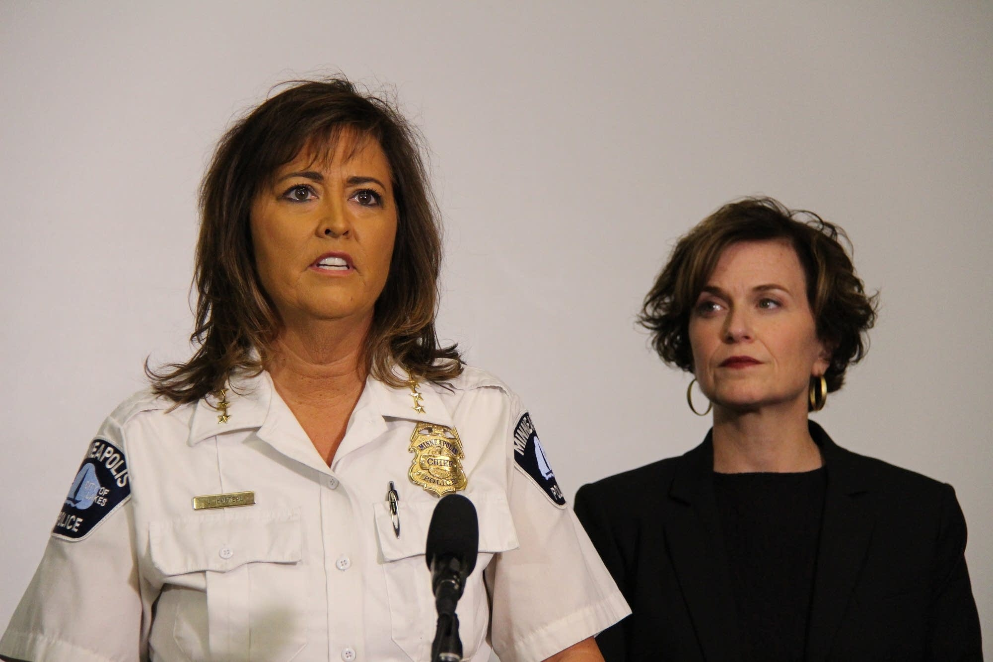 Janee Harteau and Betsy Hodges