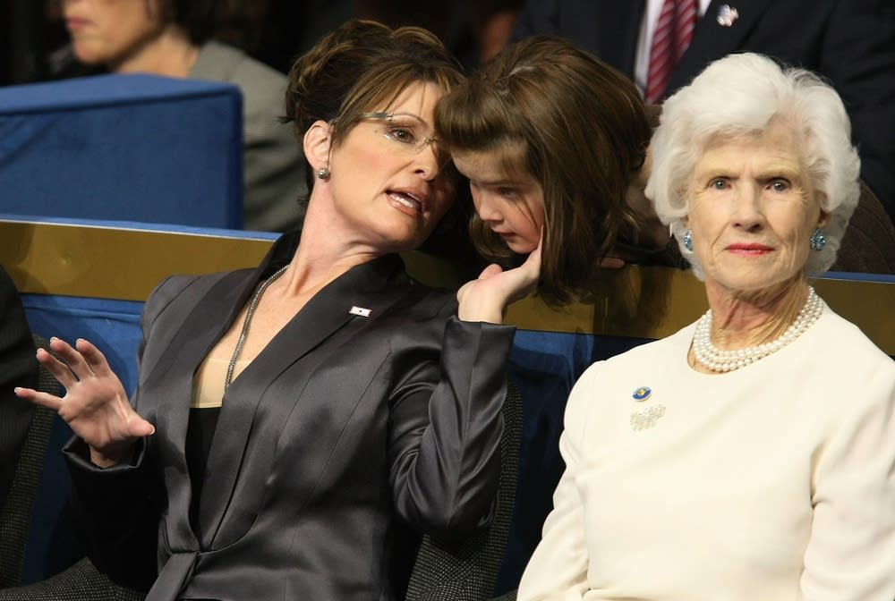 Sarah Palin and Roberta McCain