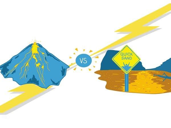 Smash Boom Best: Lava vs Quicksand