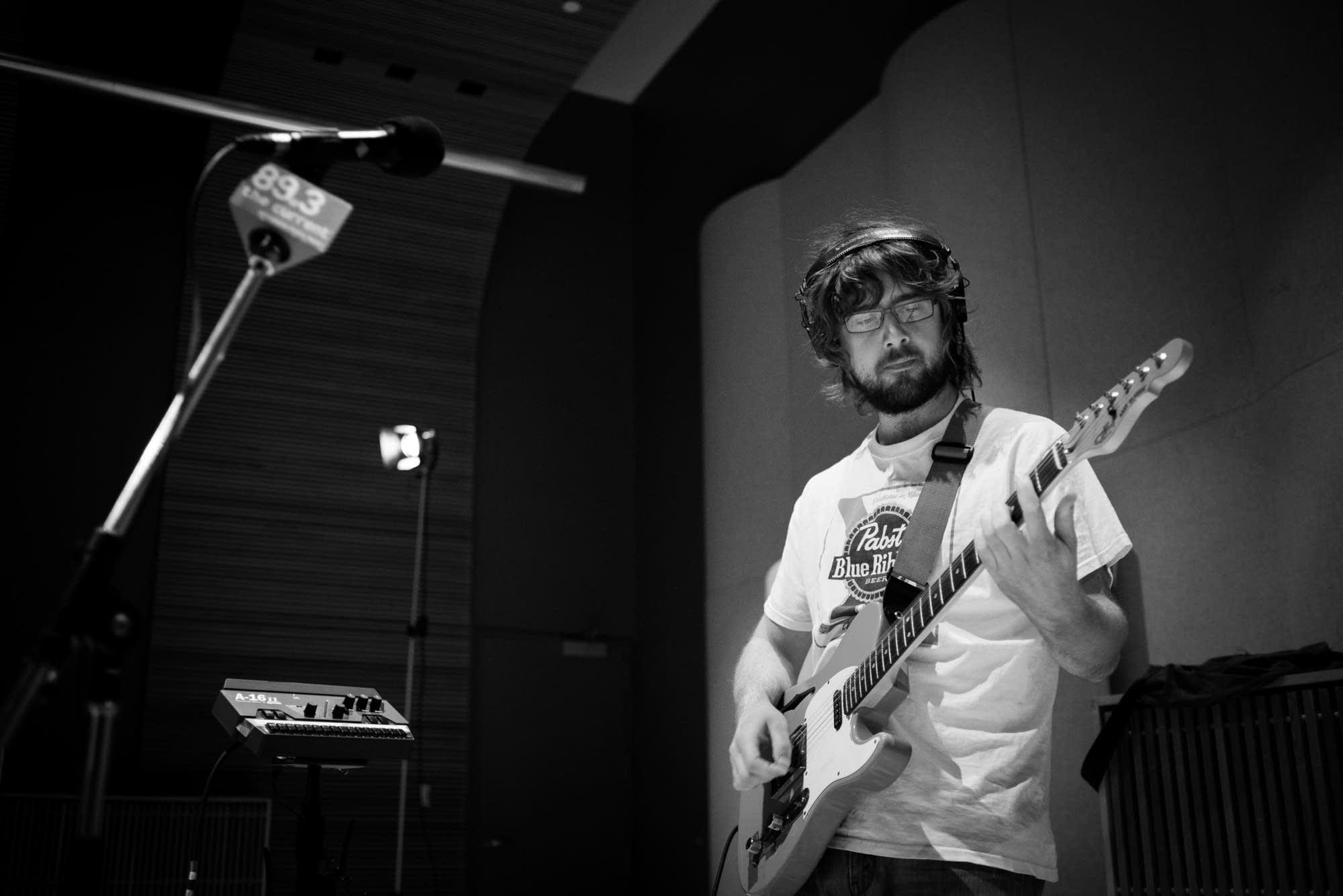 Guitarist Jackson Atkins of The Goondas