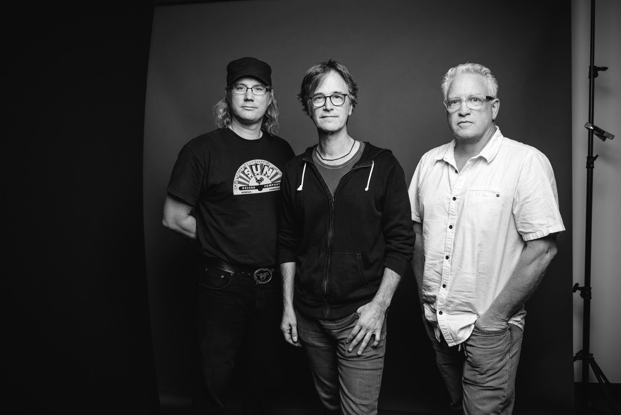 Brad Gordon, Dan Wilson and Ken Chastain portrait