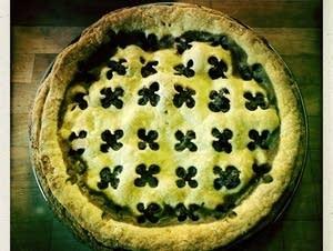 Jamaican Oxtail-Venison Pie.