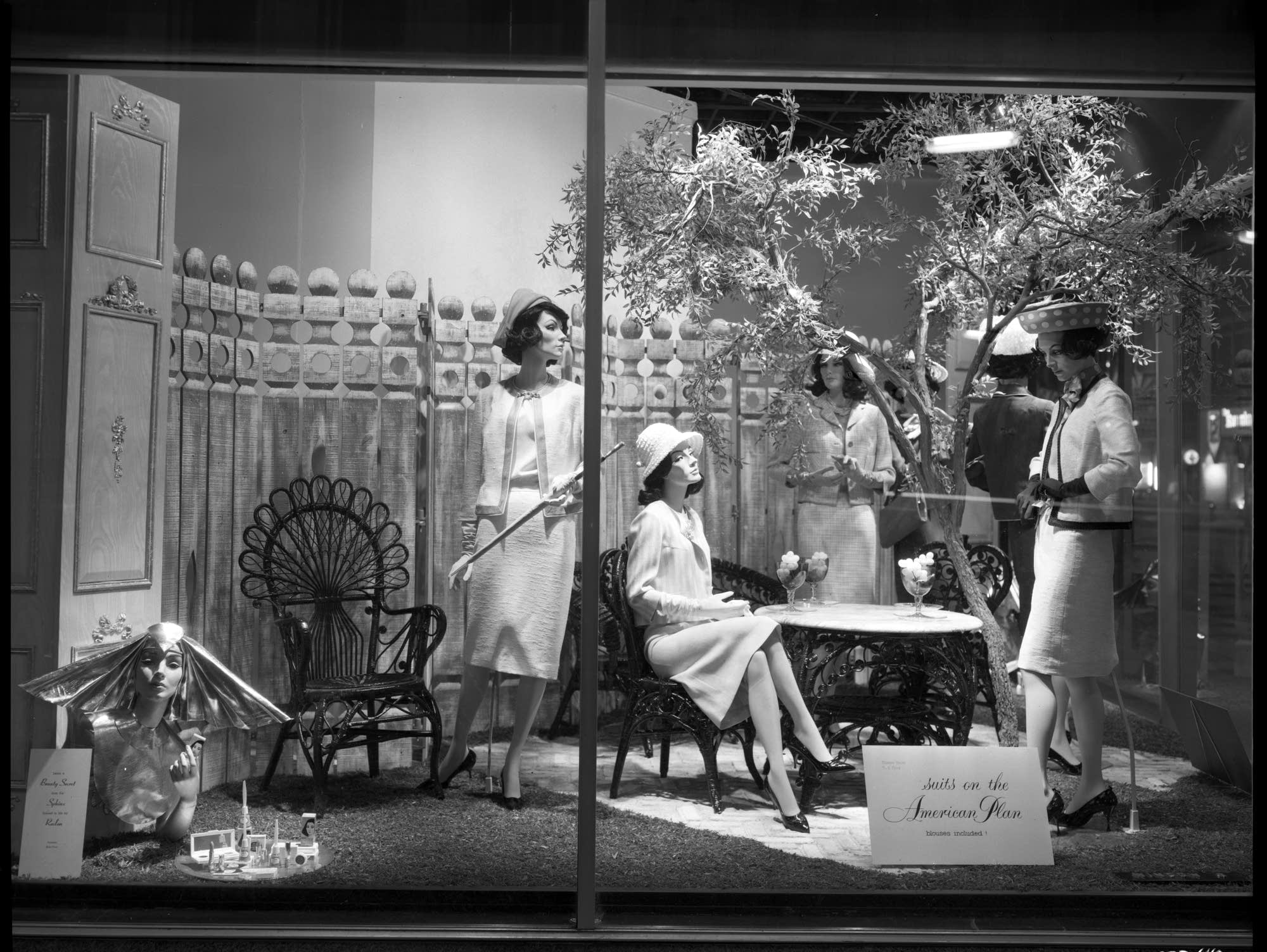 Window display at Dayton's department store
