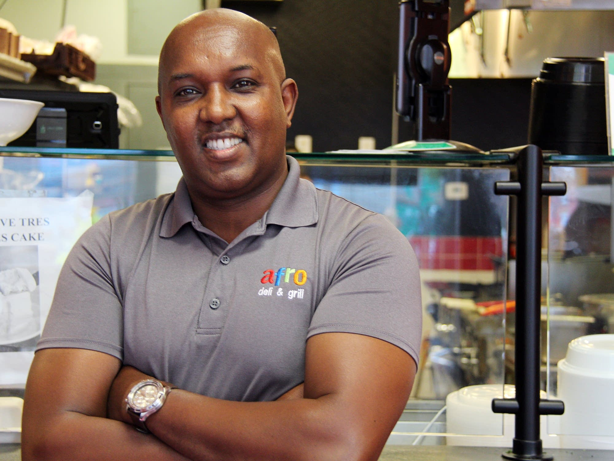 Abdirahman Kahin, owner of Afro Deli, has signed on to be an investor.