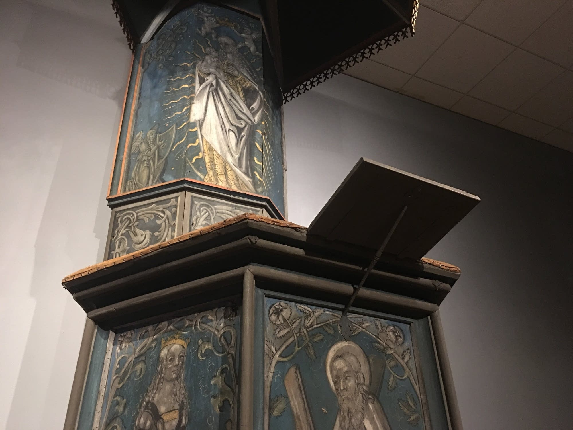 A pulpit used by Luther