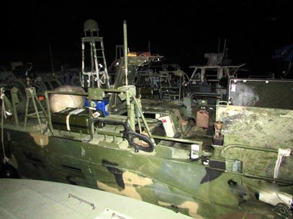 Navy boats in Iranian custody