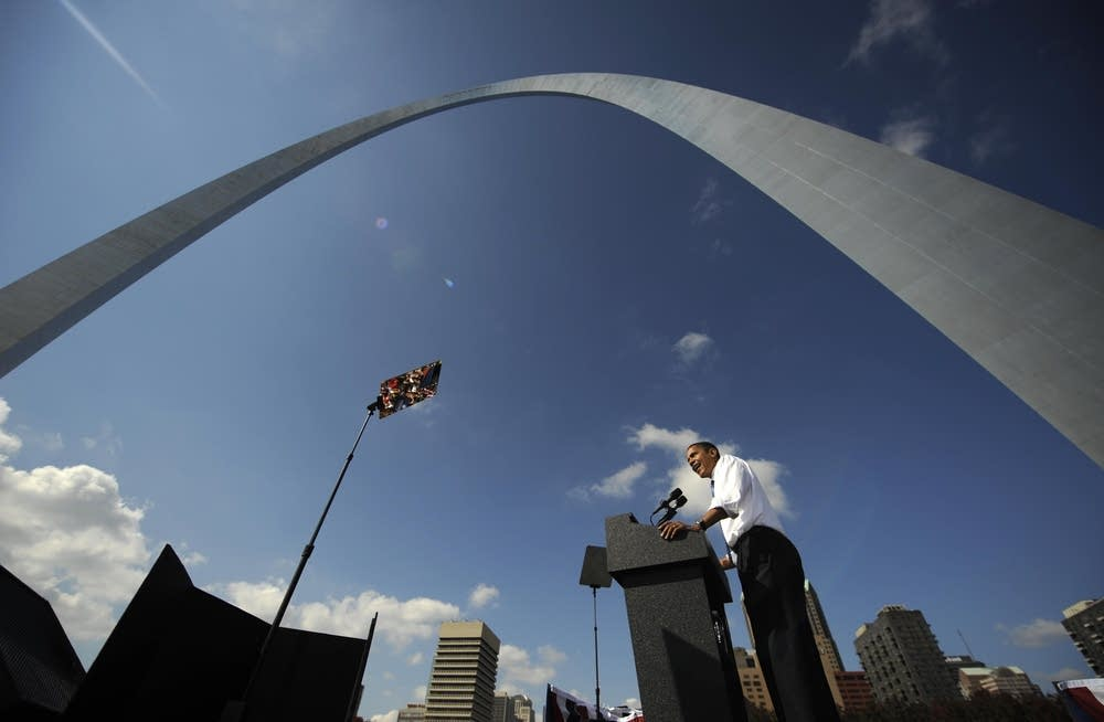Barack Obama in St. Louis