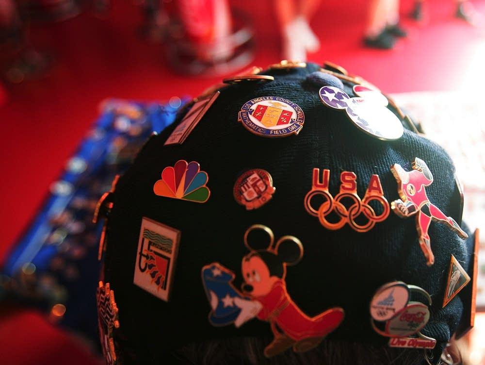 Olympics pins