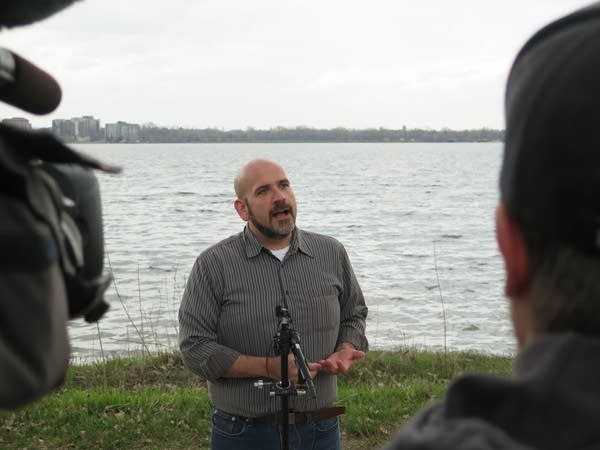 Minneapolis Park Board President Brad Bourn