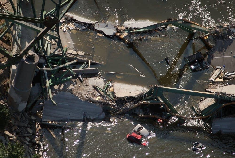 August: Bridge collapse