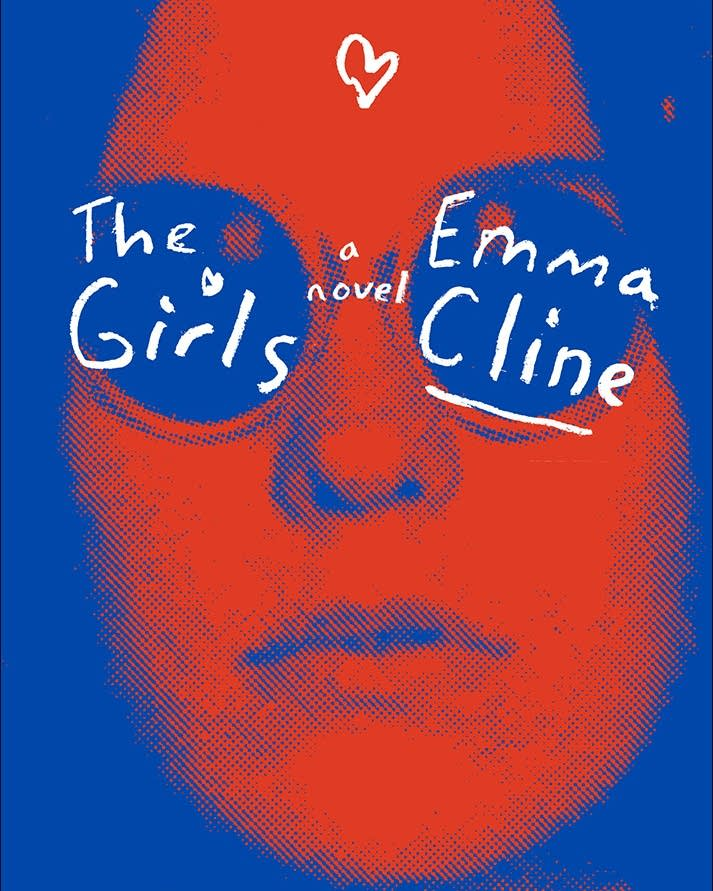 "Jacket cover for Emma Cline's novel, ""The Girls"""