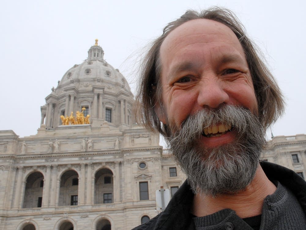 Rich Neumeister at the State Capitol