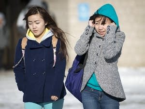 Leaving school in the cold