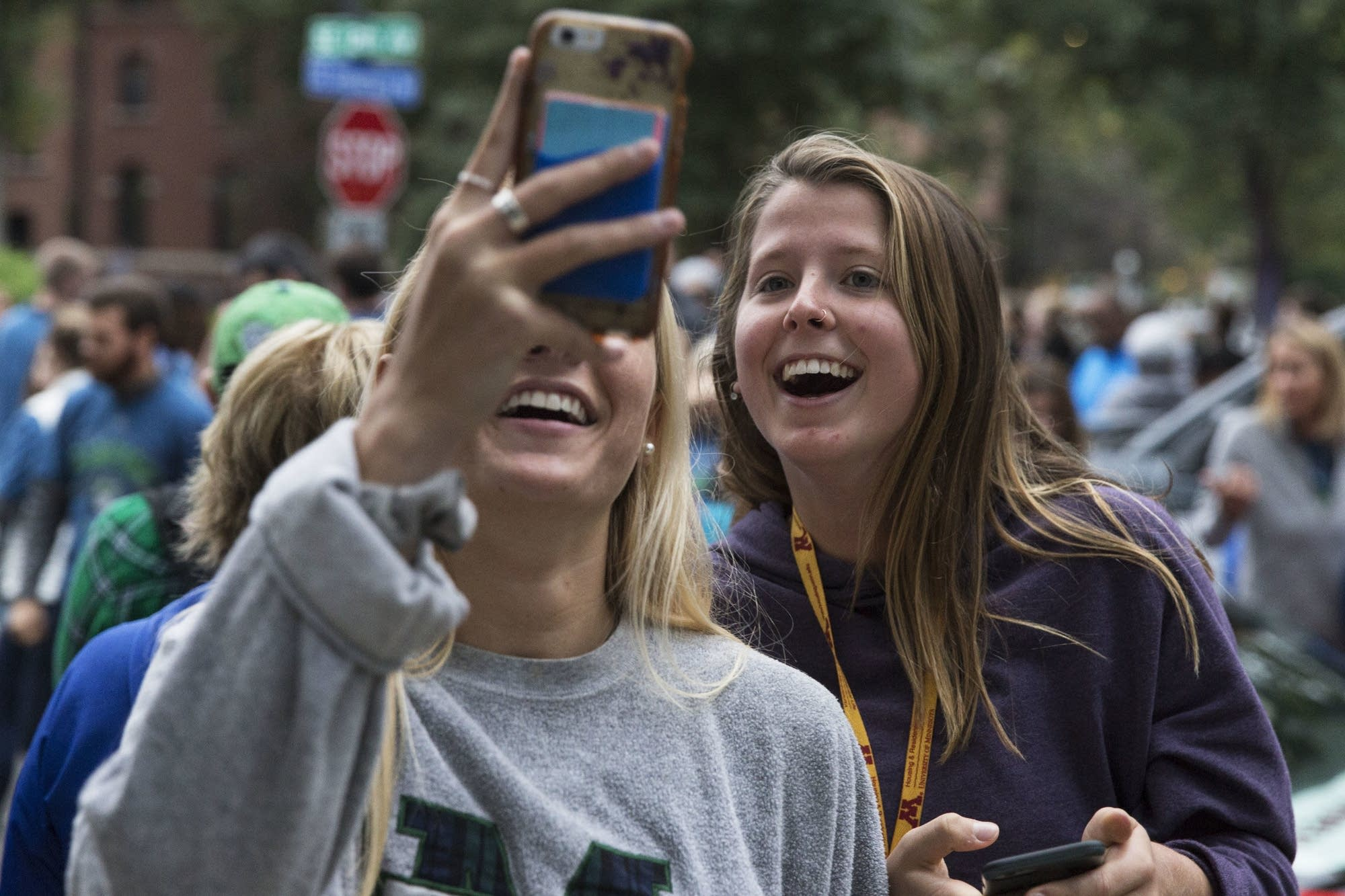 Izzi Gilbert Burke and Stephanie Reuter share the parade on social media.