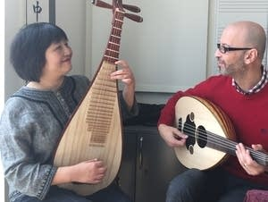 Gao Hong and Issam Rafea will perform on April 25.