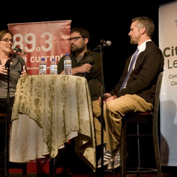 Steve Seel, Amber Damm, and Nathan Eklund
