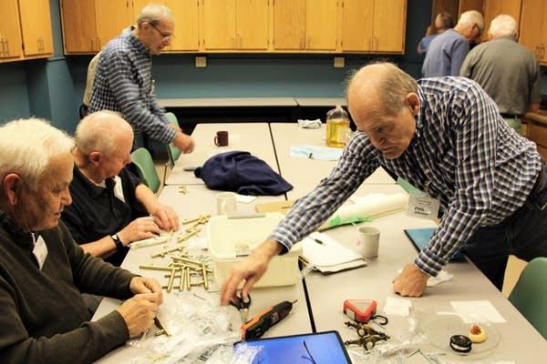 Members of the Hopkins Men's Shed