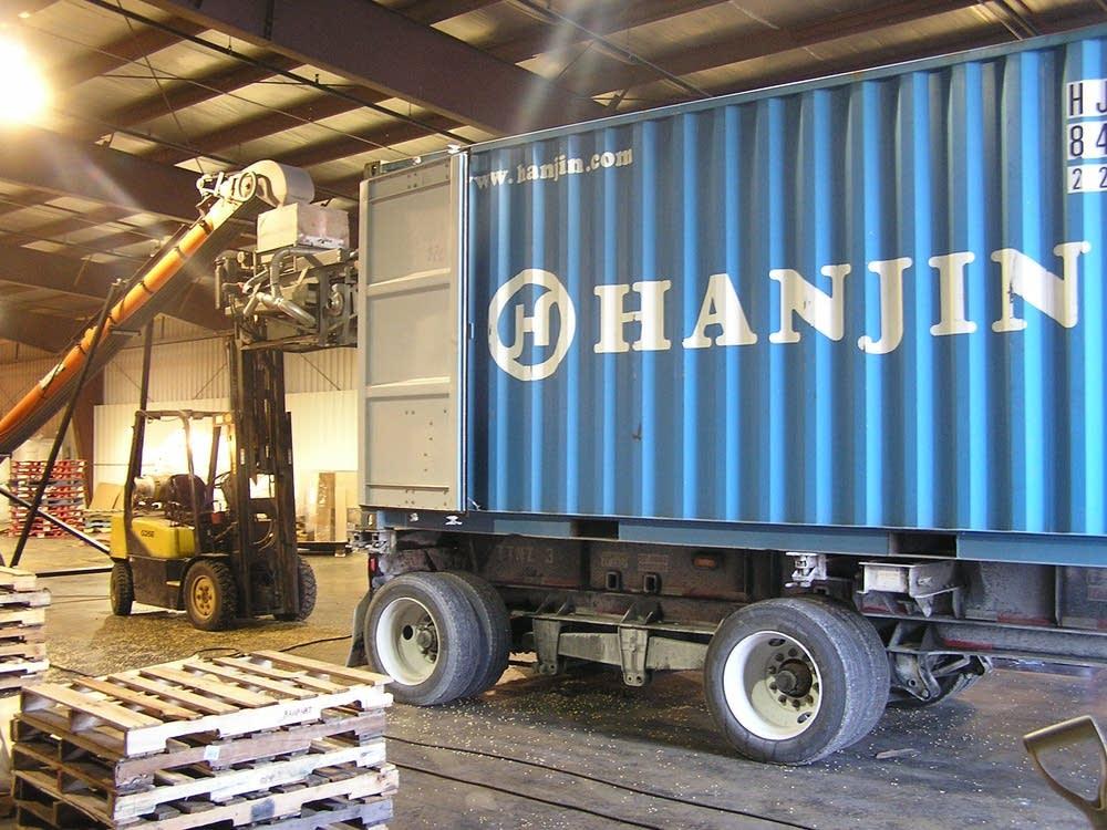 Soybean shipment